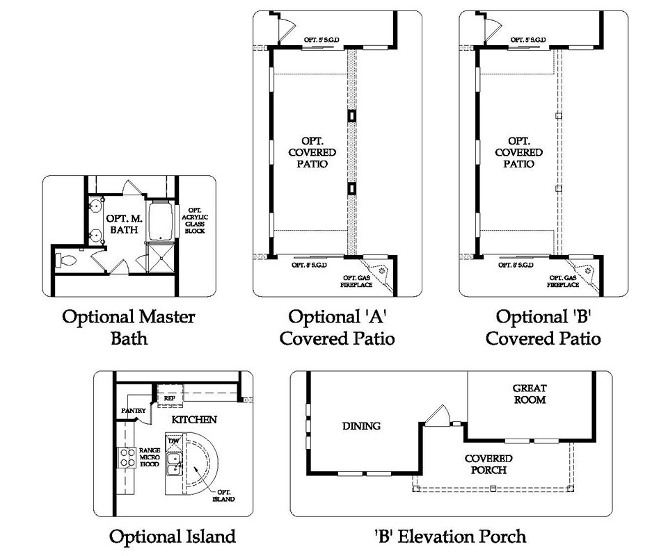 Raylee Homes Floor Plans: Pulte Homes Verano Floor Plan