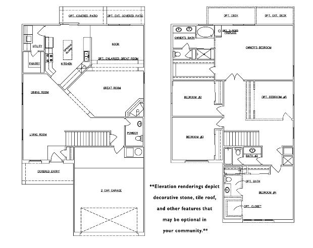 RayLee Homes The Wham Floor Plan