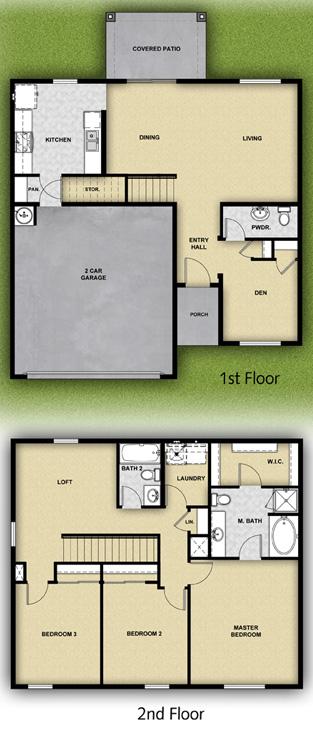 Lgi Homes La Luz Floor Plan