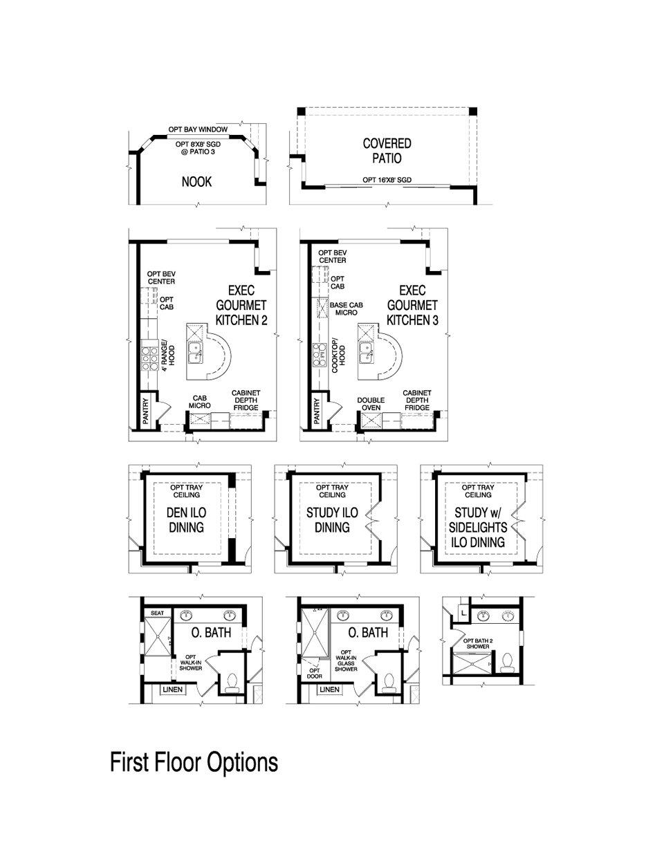 Pulte homes juniper floor plan for Juniper floor plan