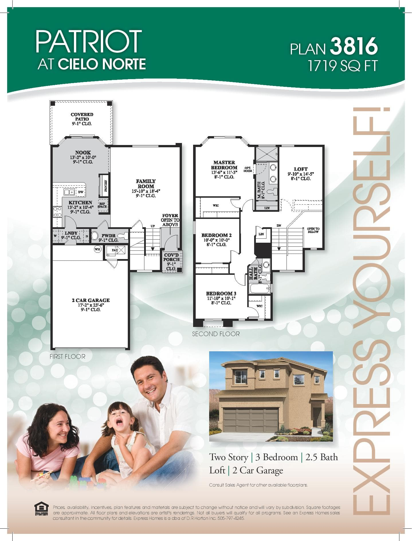 Express Homes Floor Plans