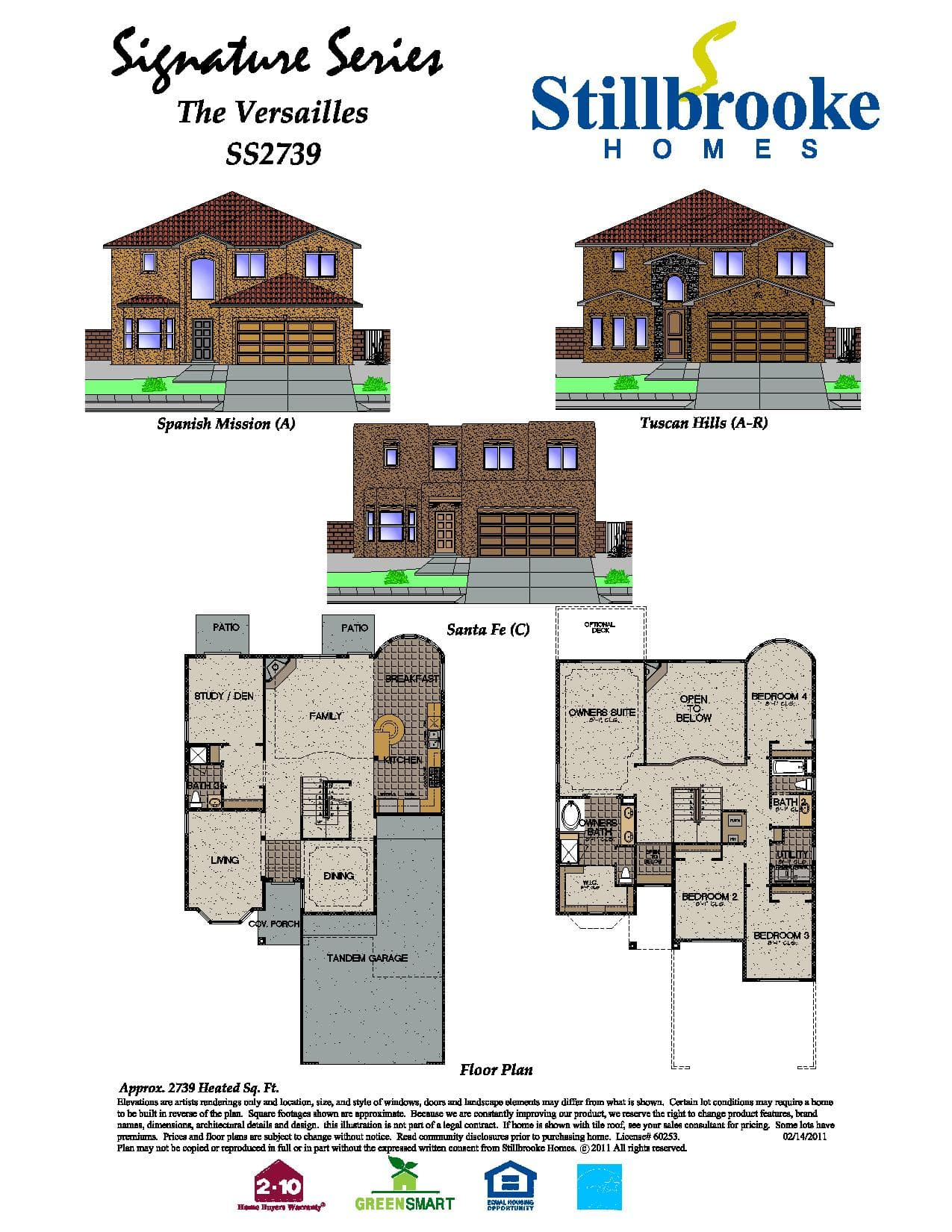 Stillbrooke Homes Plan Home Design And Style